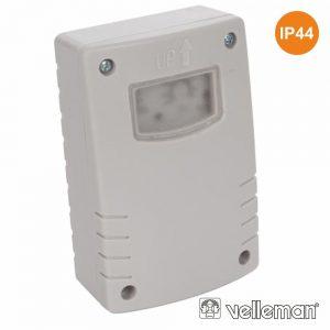Interruptor De Fotocélula Dia/Noite 6a IP44 VELLEMAN - (E300LS)