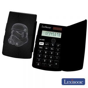 Máquina Calculadora 8 Dígitos Solar Star Wars Lexibook - (E413SW)