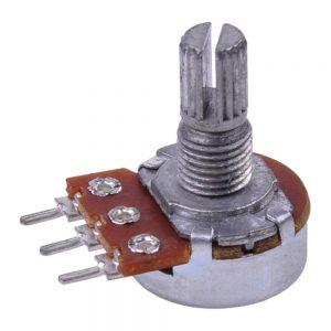 Potenciómetro Linear 0.5k Metalico - (E500AMM)