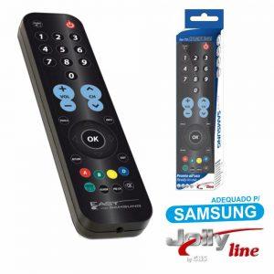 Comando TV Dedicado P/ Smart TV SAMSUNG Jolly - (EASYTV-SAMSUNG)