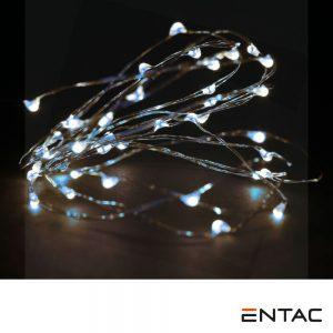 Grinalda de 20 LEDS Branco Frio 1M ENTAC - (ECL-S20CW)