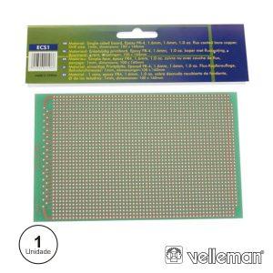 Placa Circuito Impresso Perfurada Em Pontos 100x160mm - (ECS1)