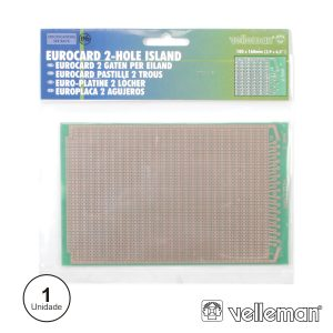 Placa Circuito Impresso Perfurada Em Pontos 100x160mm - (ECS2)