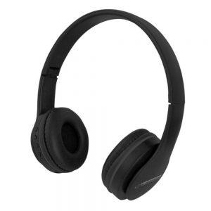 Auscultadores Bluetooth S/ Fios Stereo Pretos - (EH222K)