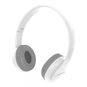Auscultadores Bluetooth S/ Fios Stereo Brancos - (EH222W)