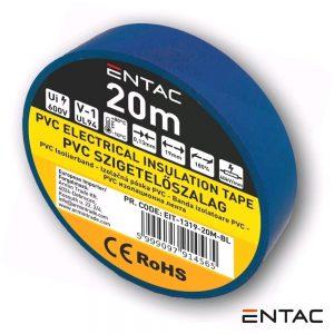 Fita Isoladora Azul 20M ENTAC - (EIT-1319-20M-BL)