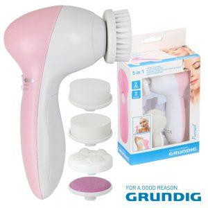 Escova De Limpeza Facial 5in1 Grundig - (07543)
