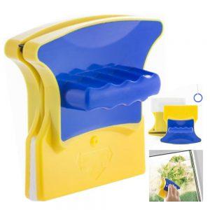 Escova Limpeza Vidros Dupla Magnética E Fio Segurança - (INVG044)