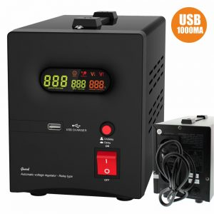 Estabilizador Automático Tensão 1500va C/ USB - (AVR-REL-GUARD1500)