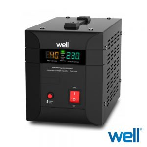 Estabilizador Automático Tensão c/ servomotor 2000VA - (AVR-TRC-AGILE2000)