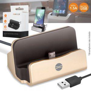 Estação Dock USB P/ USB-B Preto FOREVER. - (DS-01USBB)
