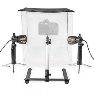 Estúdio Fotografia Portátil C/ Iluminação LED NEDIS - (SKT010WT)