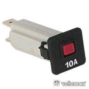 Fusível Automático 10a 250vac - (FA10)