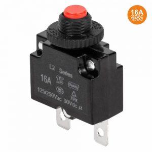 Fusível Automático C/ Disjuntor P/ Painel 16a 250vac - (FA16A)