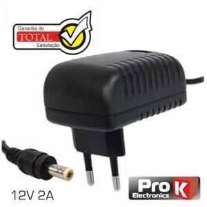 Alimentador Switching 12V 2a PROK - (FAS12V2A(C))