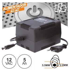 Alimentador AC-AC 12V 5A - (FAS12V5A)