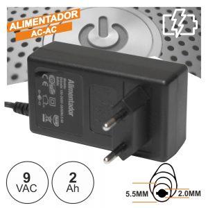 Alimentador AC-AC 9V 2a - (FAS9V2AB)