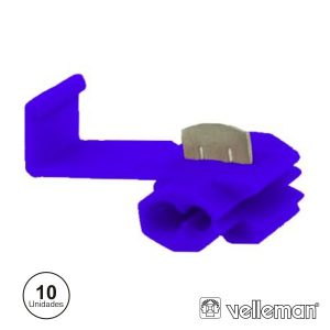 Conjunto De 10 Quick Splice Azuis - (FBQS)
