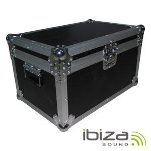 Mala Transporte DJ 2 Moving Heads Alumínio Reforçada IBIZA - (FC2350)