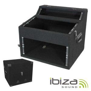 Mala Transporte DJ 2/5/4u Paineis 19mm Mdf Forrado IBIZA - (FC254)