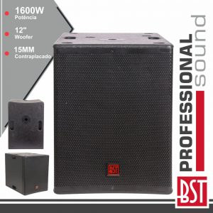 """Grave SubWoofer Passivo Pro 12"""" 1600W BST - (FIRST-SP12S)"""