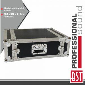 """Mala 19"""" P/ Equipamentos DJ 4u BST - (FL-4U)"""