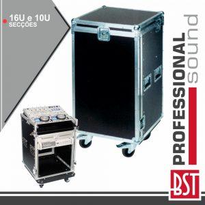 Mala Transporte 16u + 10u C/ Rodas BST - (FL16UMIX)