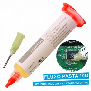 Fluxo Em Pasta P/ Soldar Seringa 10gr - (SOLD-559A)