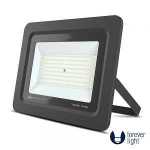 Foco LED 100W 230V 4500K 8000lm Preto - (PROXIMII100NW)