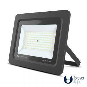 Foco LED 100W 230V 6000K 8000lm Preto - (PROXIMII100CW)
