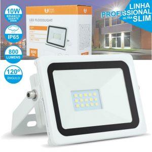 Foco LED 10W 230V 3000k 800lm Branco - (FPLE45456C)