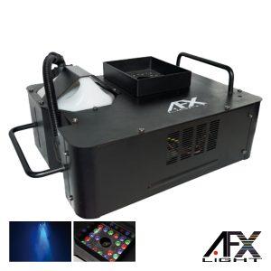 Máquina De Fumos 1500W 21 LEDS 3W RGB DMX Comando AFXLIGHT - (FOG-COLOR-RGB)