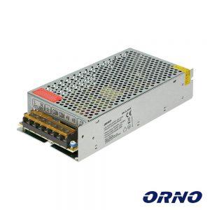 Fonte De Alimentação Industrial 12V 150W 12.5A ORNO - (OR-ZL-1635)