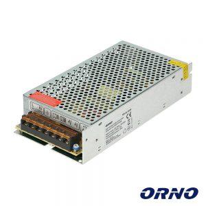 Fonte De Alimentação Industrial 12V 200W 16.5A ORNO - (OR-ZL-1636)