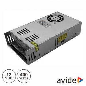 Fonte de Alimentação Industrial 12V 400W 33.5A AVIDE - (ABLSPS12V-400W)