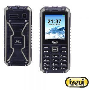 Telemóvel Anti-choque IP68 Preto/Cinza TREVI - (FORTEPLUS80-00)