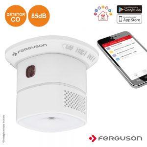 Detetor De Co C/ Alarme S/ Fios App Zigbee Ferguson - (FS1CO)