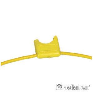 Porta-Fusíveis Automóvel Amarelo - (FUSEJEF)
