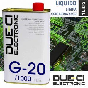 Líquido Limpa Contactos Seco 1 Litro Due-Ci - (G-20/1000)
