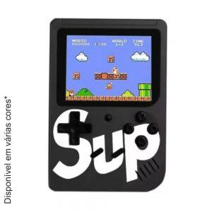 """Consola De Jogos Compacta C/ Tela 3"""" E 400 Jogos - (GAMEBOX400)"""
