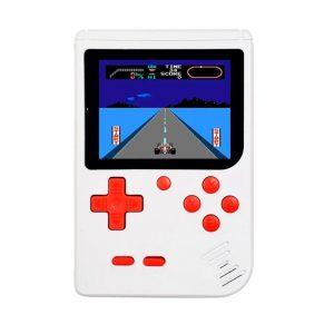 """Consola De Jogos Compacta C/ Tela 3"""" E 400 Jogos Branco - (GAMECLASSIC400-WH)"""