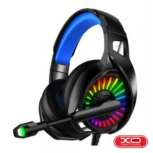 Auscultadores Gaming C/ Fios RGB Preto XO - (GE-03-BK)