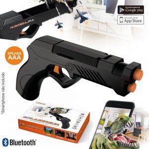 Pistola Laser De Realidade Aumentada P/ Smartphone BT - (GP-110)