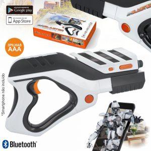 Pistola De Realidade Aumentada P/ Smartphone BT Pilhas - (GP-200)