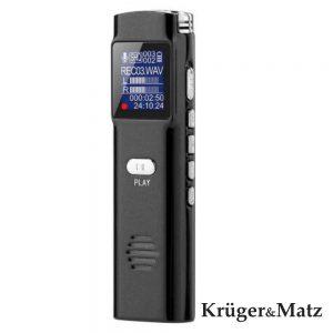 Gravador De Voz Visor OLED 8GB KRUGER MATZ - (KM0286)