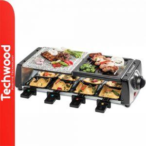 Grelhador Raclette 8 Pessoas 1200W TECHWOOD - (TRGP-880)