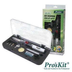 Ferro De Soldar A Gás C/ Kit Auto Ignição PROSKIT - (GS-23K)