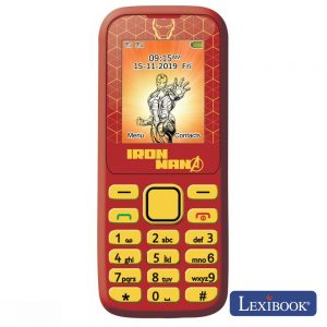 "Telemóvel Dual Sim 2g 1.77"" Bluetooth Avengers Lexibook - (GSM20AV)"