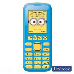"Telemóvel Dual Sim 2g 1.77"" Bluetooth Minions Lexibook - (GSM20DES)"