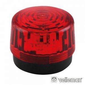 Lâmpada Estroboscópica 12Vdc Vermelho VELLEMAN - (HAA100RN)